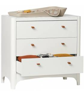 Leander Classic Kommode - Weiss
