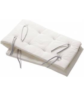 Linea und Luna Nestchen für Babybett - Snow