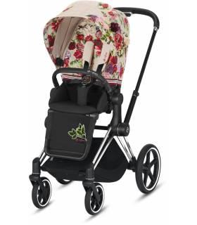 Cybex e-Priam Elektro-Kinderwagen - Spring Blossom Light