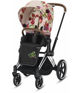Cybex e-Priam Elektro-Kinderwagen - Spring Blossom Light