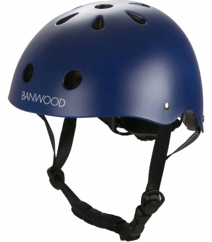Banwood Kinder Helm - Marineblau