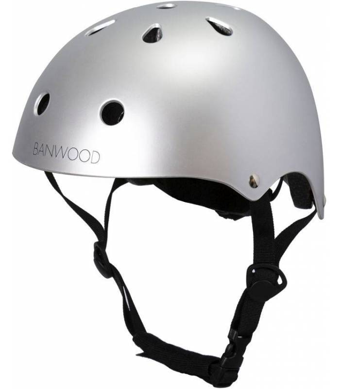 Banwood Kinder Helm - Chrome