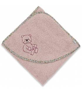 Sterntaler Terrybären Kapuzenbadetuch 100x100 - Baylee Rose