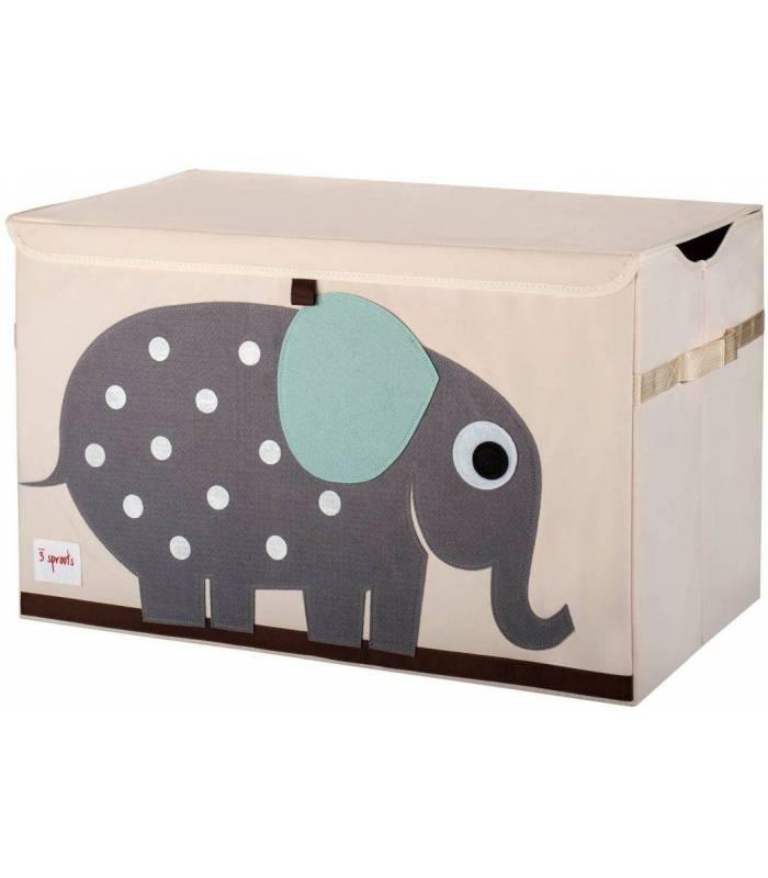 3 Sprouts Spielzeugbox - Elefant