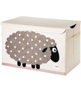 3 Sprouts Spielzeugkiste - Schaf