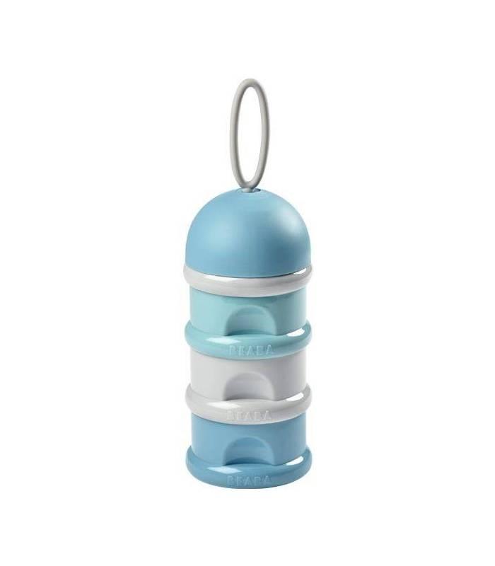 Beaba Baby Milchpulverspender - Dunkelblau / Blau / Hellgrau