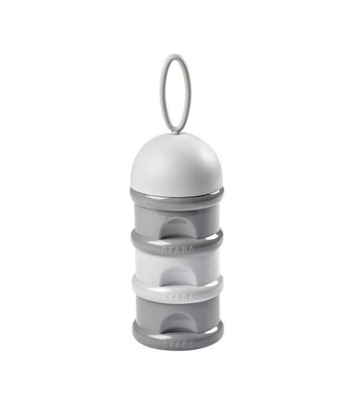 Beaba Baby Milchpulverspender - Dunkelgrau / Hellgrau
