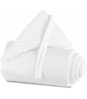 Babybay Original Nestchen - Punkte Perlgrau