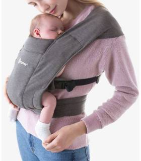 Ergobaby Embrace Babytrage - Heather Grey
