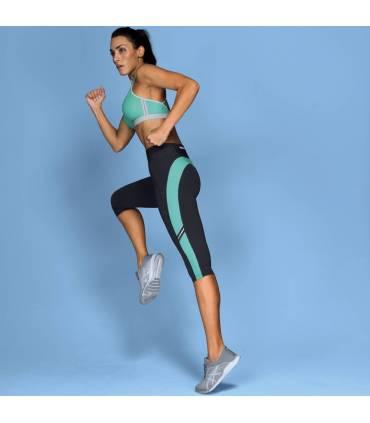 Anita Sport Tights Fitness - Pool Blue Anthrazite