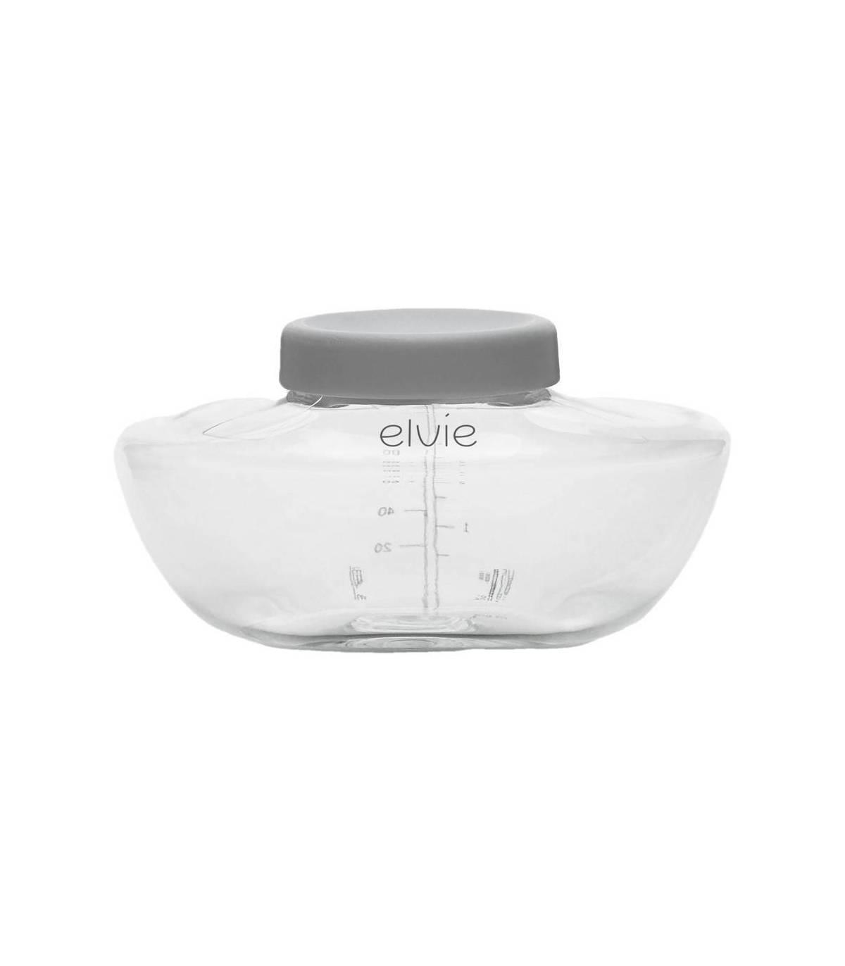 Elvie Flaschen und Deckel 150ml - 3er Pack