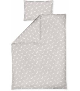 Zöllner Bettwäsche mit Applikation 100x135cm - Twiggy