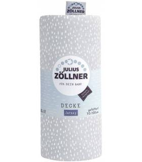 Zöllner Jerseydecke gefüttert 70x100 - Tiny Squares Grey