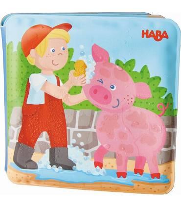Haba Badebuch - Schwein & Kuh