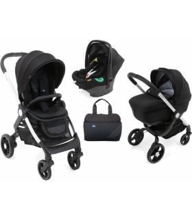 Chicco Trio Alysia Pirate Black (Sportwagen & Babywanne & Babyschale/Autositz)