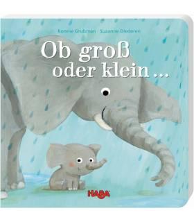 Haba Buch - Ob gross oder klein...