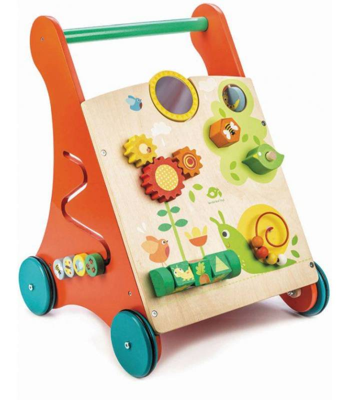 Tender Leaf Toys Lauflernwagen - Activity