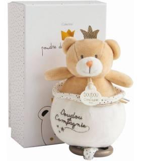 Doudou Spieluhr - Prinz Bär