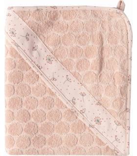 Zewi Bébé-Jou Badetuch mit Kaputze Wish Pink