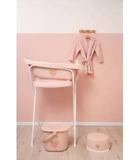 Zewi Bébé-Jou Easy Wipe (Aufbewahrungsbox für Feuchttücher) Pink Leopard