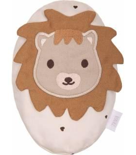Zewi Bébé-Jou Traubenkernkissen (Wärmekissen) Classic Hearts Lion