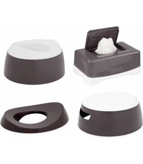 LUMA Toilet Trainingset Dark Grey