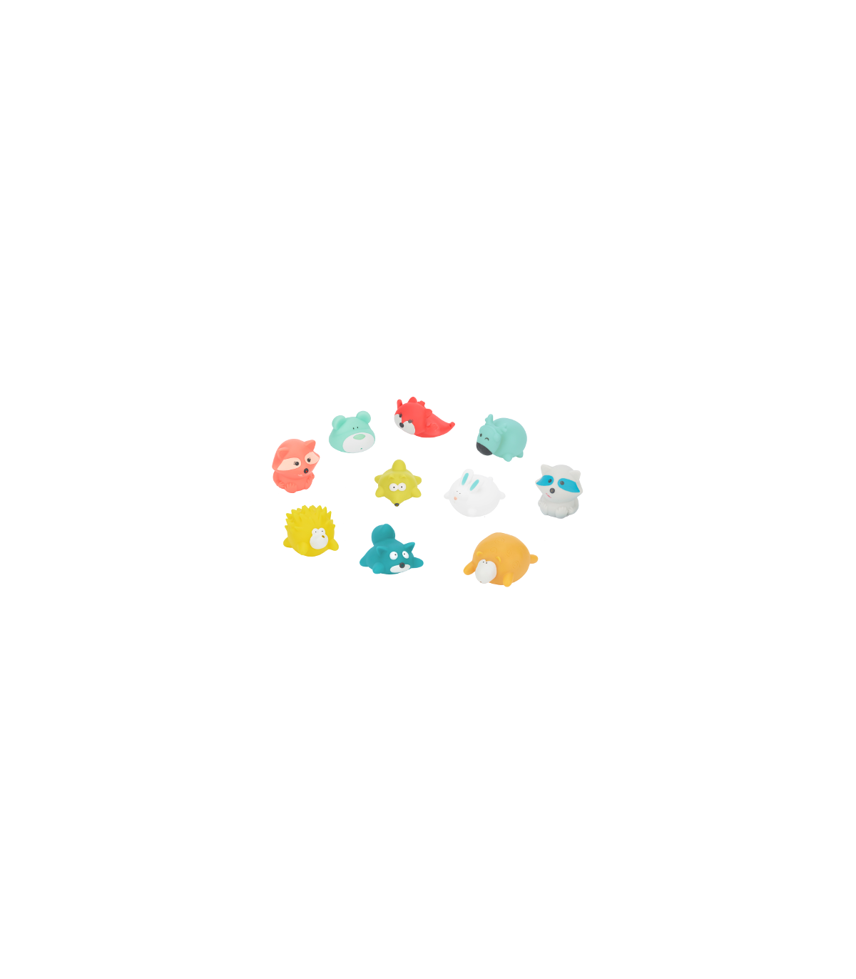 Badabulle Spritzfiguren - Bergtiere 10-teilig