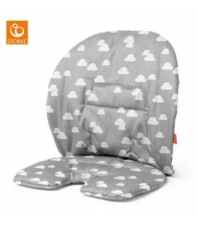 Stokke Steps Baby-Kissen Grey Clouds