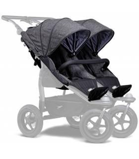 TFK DUO-Komfortsitz-Einhänge XXL für DUO-Kinderwagen (Doppelter Sportsitzeinhang)