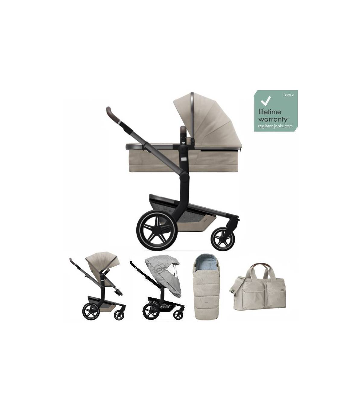 oolz DAY+ SET-Angebot Timeless Taupe