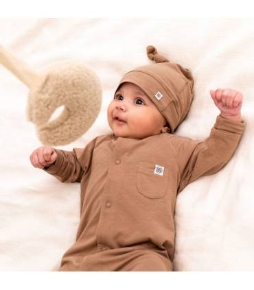 Cloby UV Baby Overall Coconut Brown