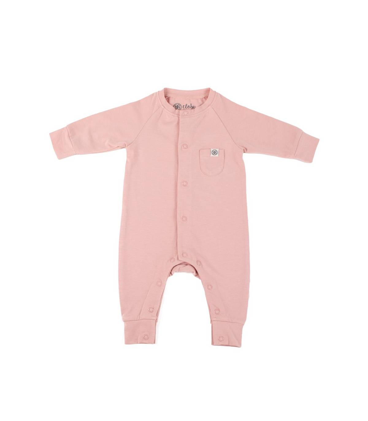 Cloby UV Baby Overall Misty Rose