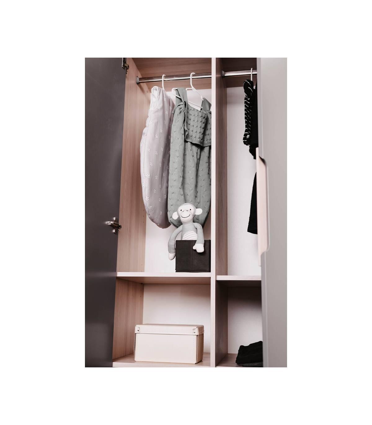 Geuther 3-türiger Kleiderschrank Marit Anthrazit