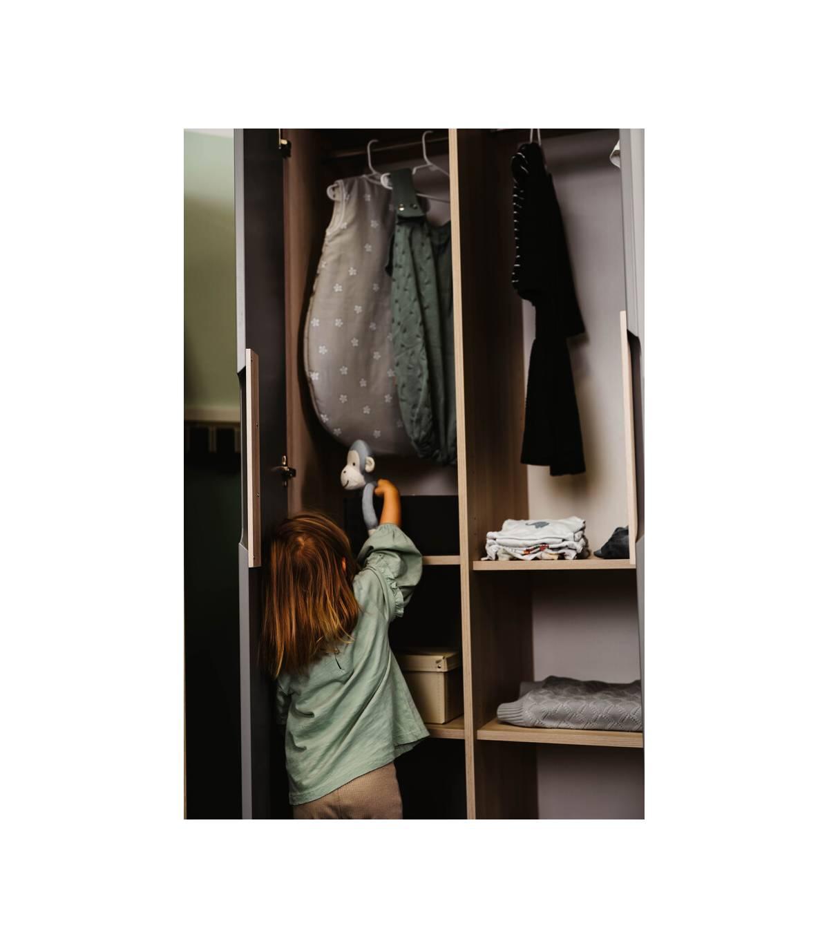 Geuther 3-türiger Kleiderschrank Marit Weiss