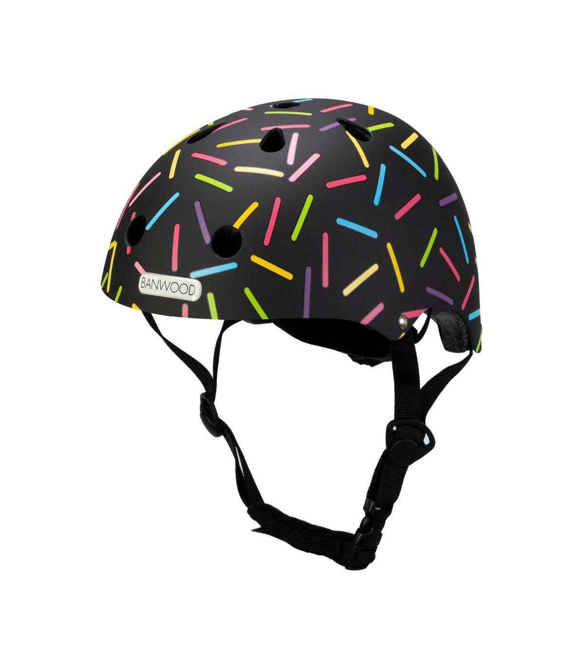 Banwood Kinder Helm Marest Allegra Schwarz