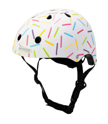 Banwood Kinder Helm Marest Allegra Weiss