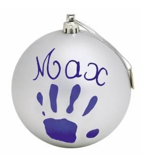 BabyArt My Christmas Ball Silver (Deko-Kugel Zum Bemalen)