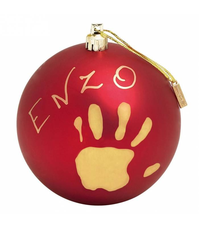BabyArt My Christmas Ball Red (Deko-Kugel Zum Bemalen)