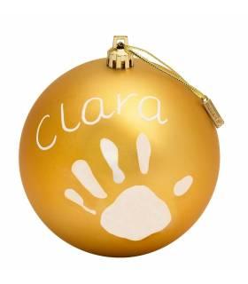 BabyArt My Christmas Ball Gold (Deko-Kugel Zum Bemalen)