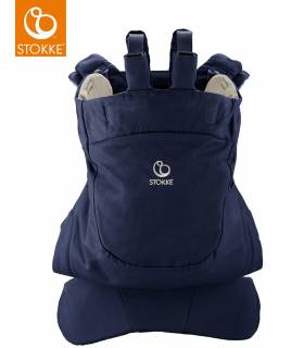 Stokke MyCarrier Bauch- & Rückentrage Deep Blue (Front-&Back Carrier)