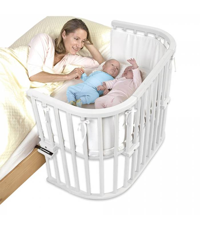 Babybay Original Extra-belüftet Weiss-lackiert