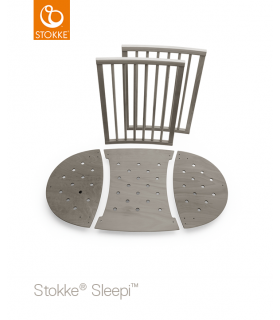 Stokke Sleepi Erweiterungs-Kit (Mini-zu-Normalbett) Hazy Grey
