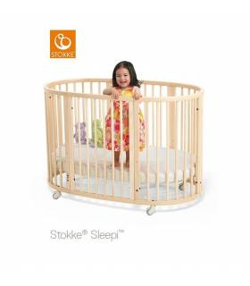 Stokke Sleepi Bett Hazy Grey