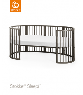 Stokke Sleepi Junior Erweiterungskit (Bett zu Juniorbett) Hazy Grey