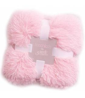 Bizzi Growin Kuscheldecke 100x100cm Girls/Rose