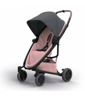 Quinny Zapp Flex-Plus Buggy Graphite on Blush