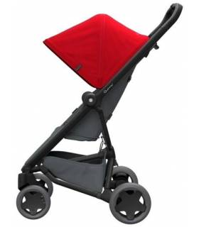 Quinny Zapp Flex-Plus Buggy Red on Graphite
