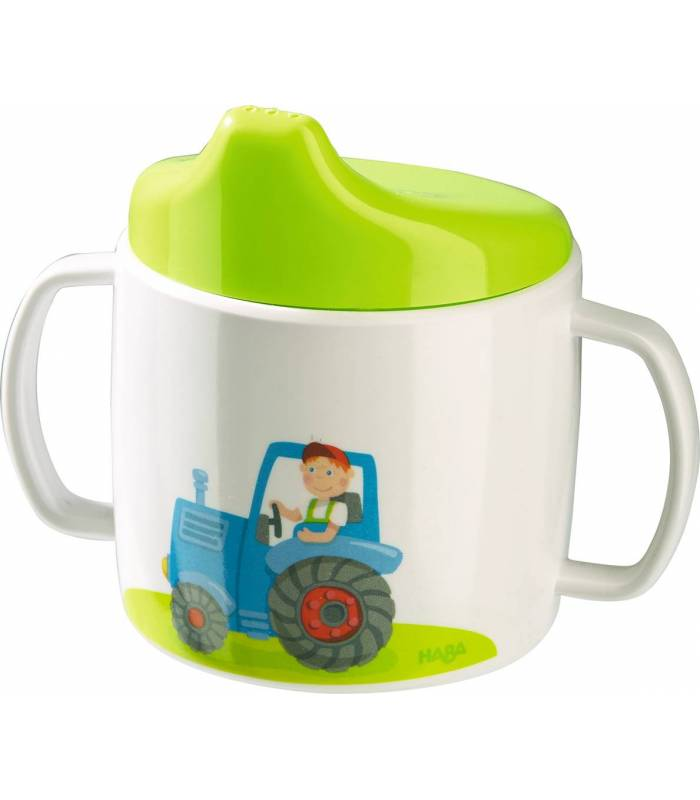 Haba Melamin-Trinklerntasse Traktor