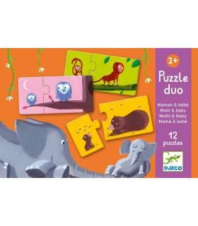 Djeco Puzzle Mama und Kind