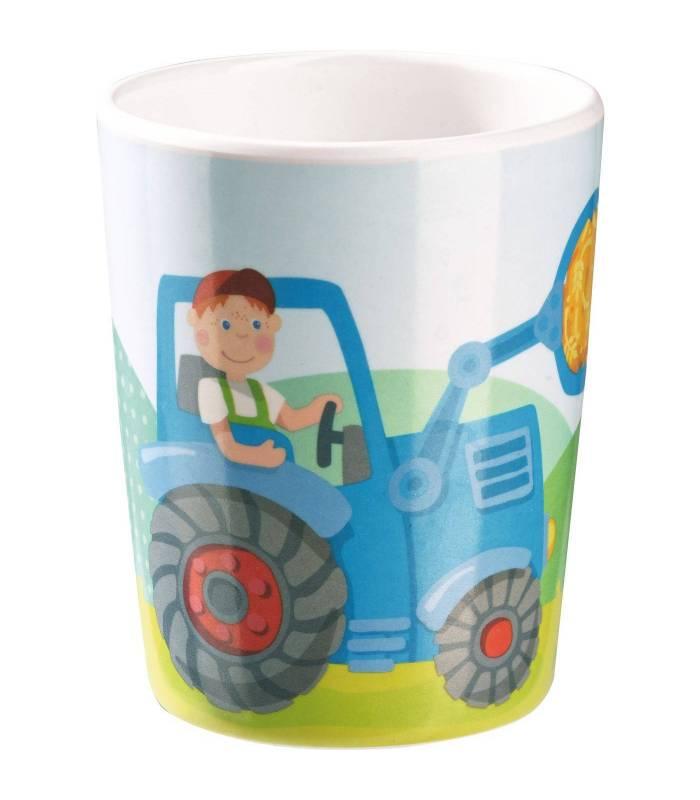 Haba Melamin-Becher Traktor